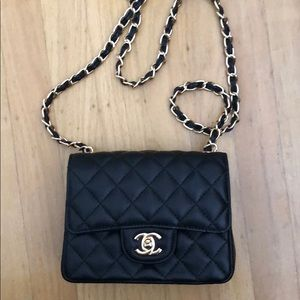 Handbags - Chanel Mini Flap Black